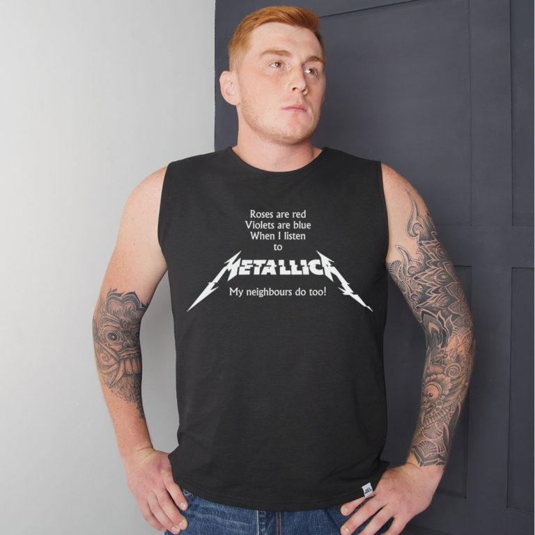 Футболка удлиненная Metallica 2