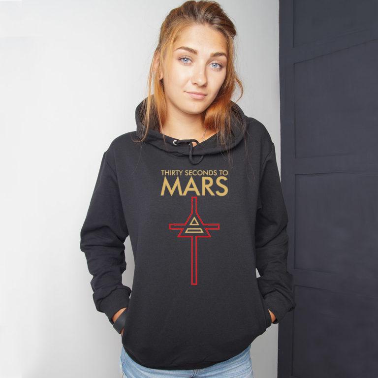 Худи 30 Seconds to Mars 10