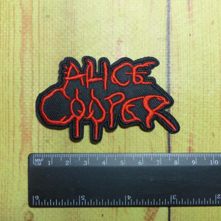 Нашивка  Alice Cooper