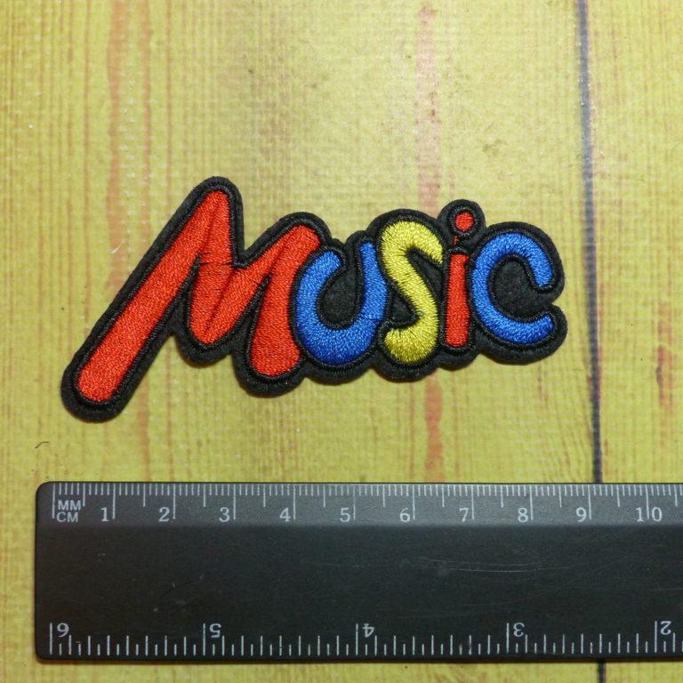 Нашивка Music