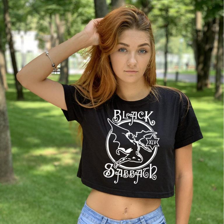 Топ женский Black Sabbath 3