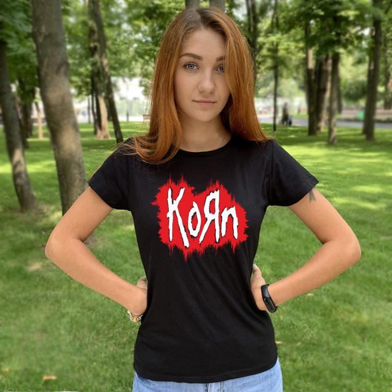 Футболка Korn 8