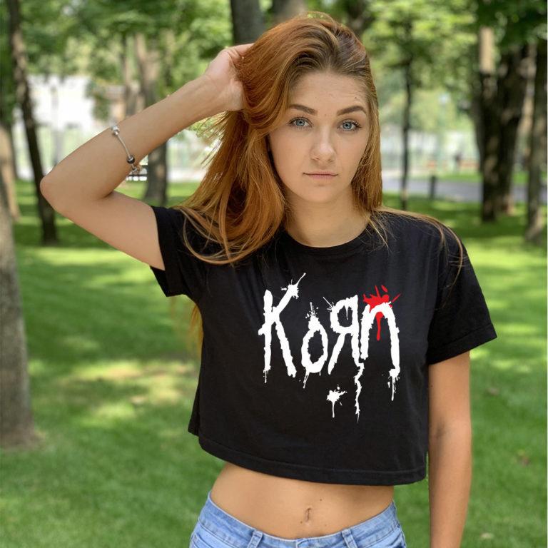 Топ женский Korn 1
