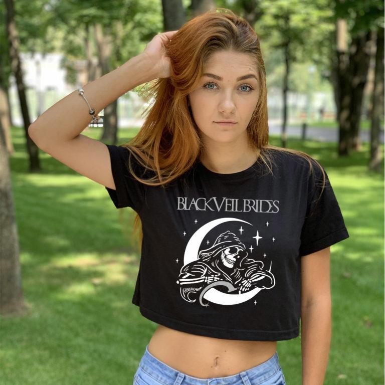 Топ женский Black Veil Brides 2
