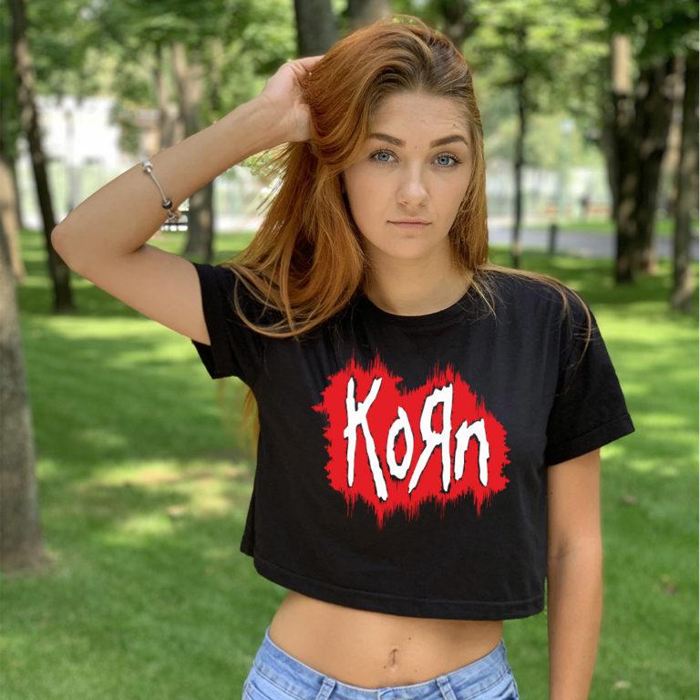 Топ женский Korn 5