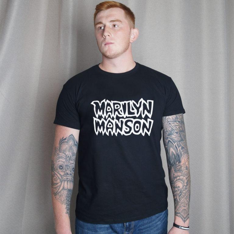Футболка Marilyn Manson 12