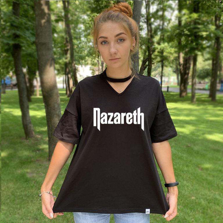 Футболка с чокером Nazareth 2