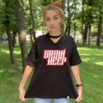 Футболка с чокером Uriah Heep2