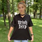 Футболка с чокером Uriah Heep 4