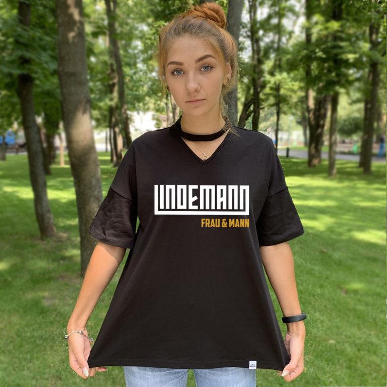 Футболка с чокером Lindemann 1