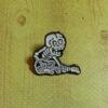 Пин (значок) скелет