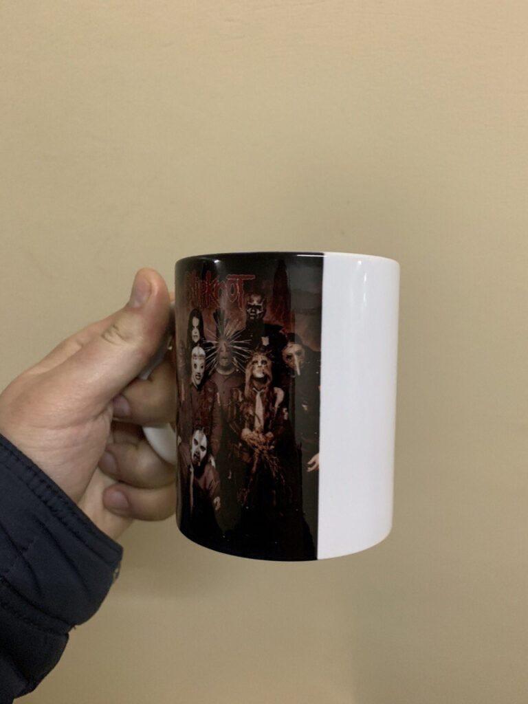 Купить Чашка  SlipKnot
